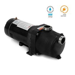 XtremepowerUS 1 HP Booster Pump, in-Ground Swimming Pool Vac