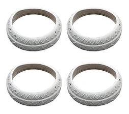 4) NEW Pentair LLC1PM Pool Spa White Tire Replacements Autom