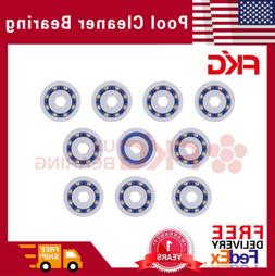 8 Pack Bearing Replacement Wheel For Polaris Pool Cleaner 36