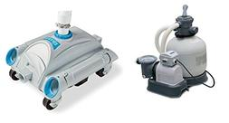 INTEX 2800 GPH Above Ground Pool Sand Filter Pump and Automa