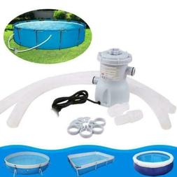 Above Ground Swimming Pool Electric Filter Pump Water Cleane