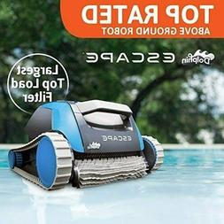 BRAND NEW Dolphin Escape Above Ground Pool Cleaner with Top-