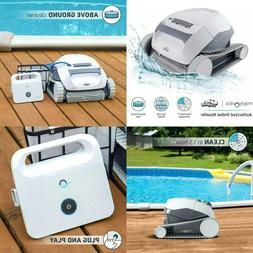 Dolphin E10 Automatic Robotic Pool Cleaner With Easy To Clea