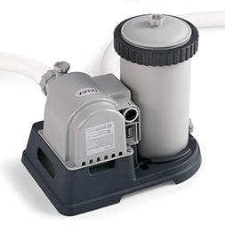 Intex 28633EG Krystal Clear Cartridge Filter Pump for Above