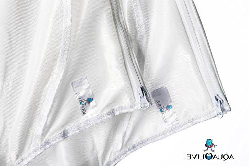 AquaOlive - 2 , Durable Pool Fits 280 Part Large Bag with Strong Cross Stitching and Fine Mesh