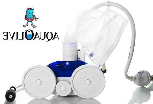 AquaOlive Pack , Durable All Pool Fits Part K13,K16, Bag Stitching and Fine Mesh