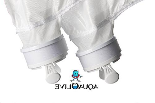 AquaOlive , All Pool Replacement Fits Part Bag with Cross Stitching Mesh