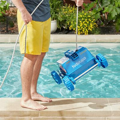 aprvjr pool rover robotic above