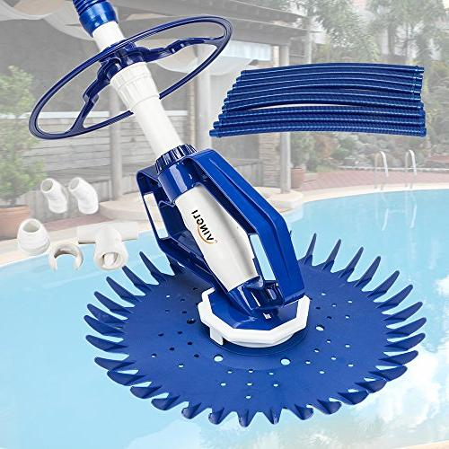 VINGLI Automatic in-Ground Pool Cleaner Wall Sweeper