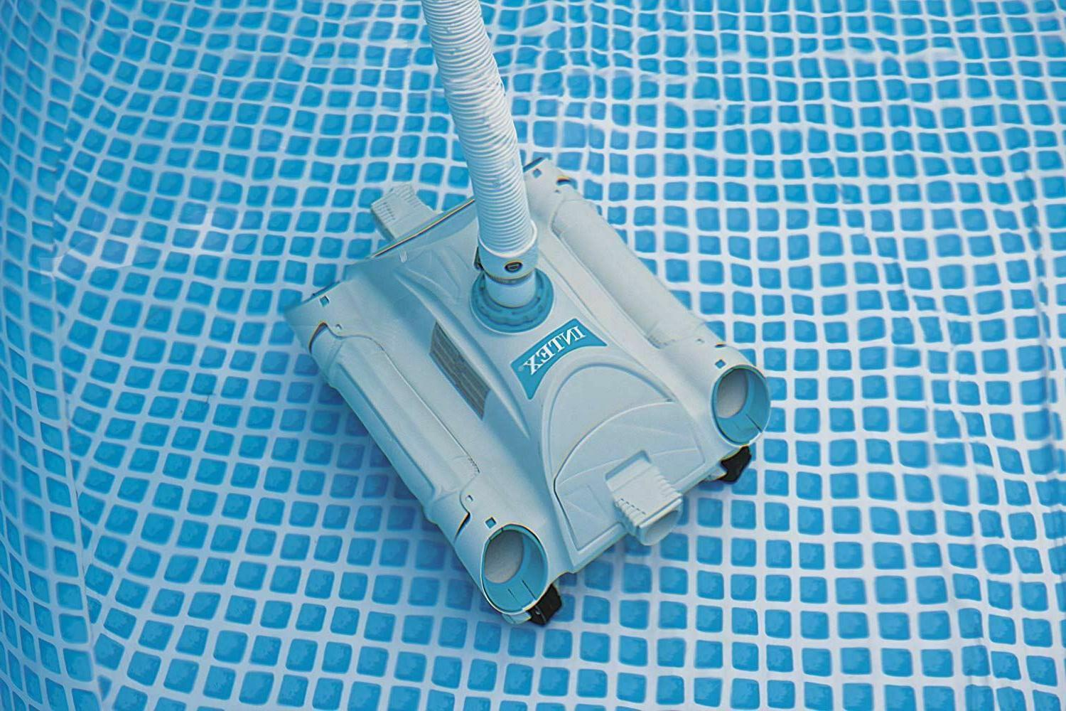Automatic Robot Swimming Powerful Pool Vacuum Cleaner Above