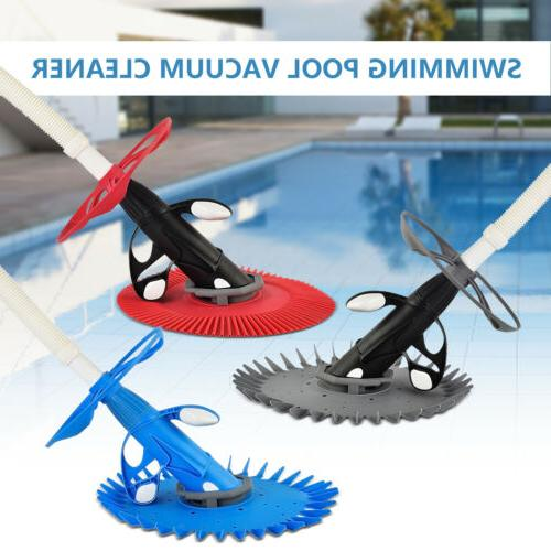 automatic suction side climb wall swimming pool