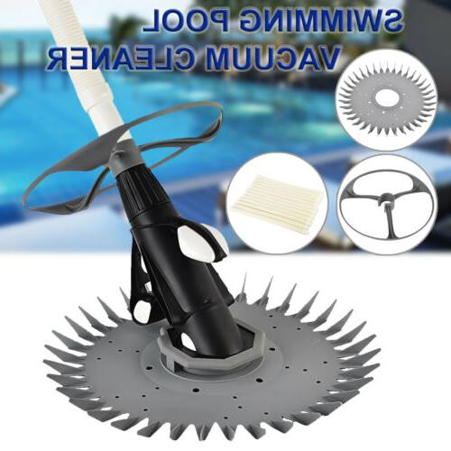 Automatic Suction Swimming Pool Vacuum Cleaner Hose Set In G