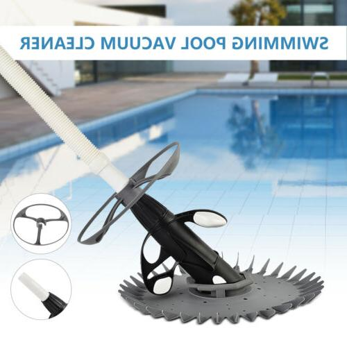 automatic swimming pool vacuum cleaner inground above