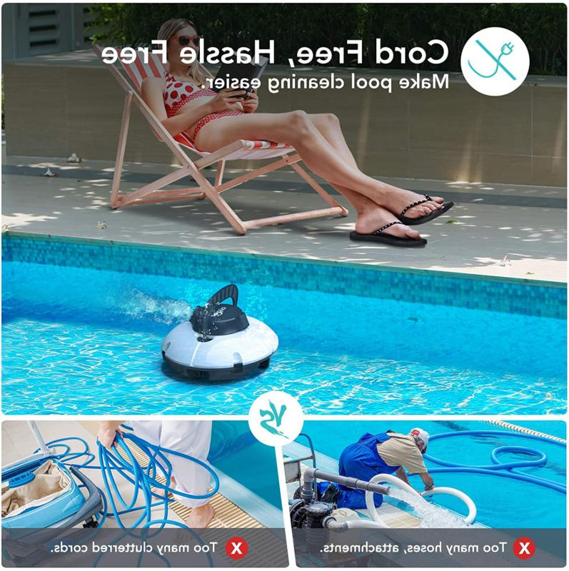 Aiper Smart Pool Suction With 2Pcs