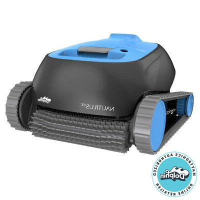 dolphin nautilus robotic pool cleaner with clever