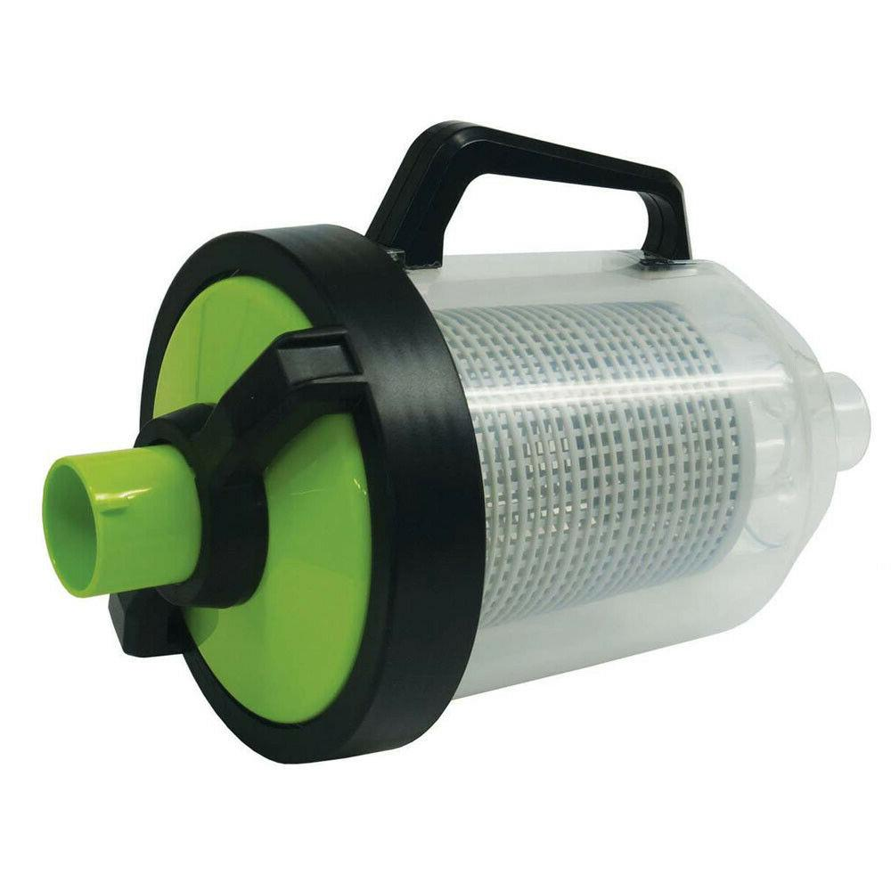 Automatic Handle Pool Cleaner Filter Out Leave