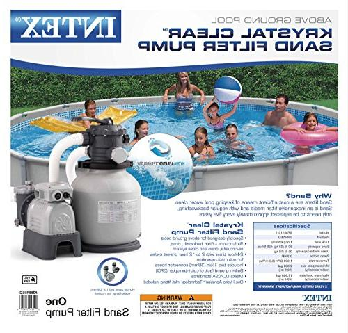 Intex Krystal Filter Pump Ground with GFCI