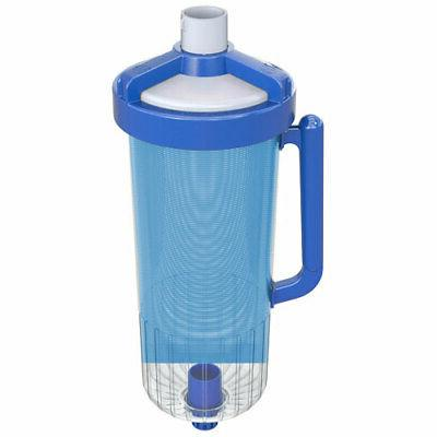 large capacity leaf canister auto pool cleaner