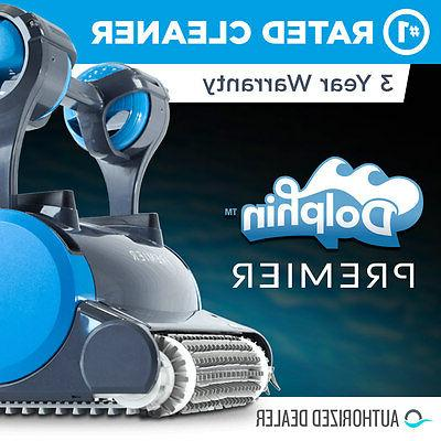 Dolphin Premier Robotic Pool Cleaner with MultiMedia™ Filt