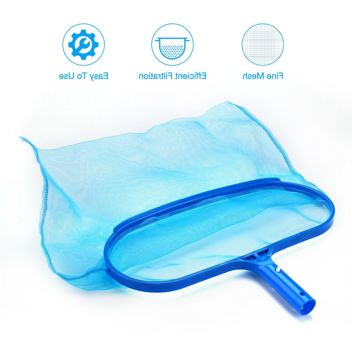 Swimming Pool Deep Leaf Net Rake Bag Cleaner