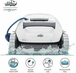 NEW DOLPHIN E10 Automatic Robotic Pool Cleaner with Easy Cle