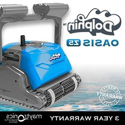 Dolphin Oasis Z5 Robotic Pool Cleaner with Caddy and Remote