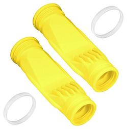 HENMI 2 Pack Pool Cleaner Diaphragm Replacement Yellow Long