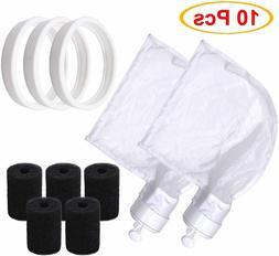 Pool Cleaner Replacement Parts W/ Bags Tires For Polaris 180