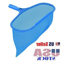 Pool Leaf Skimmer Rake Net Clean Swimming Heavy Duty Leaves