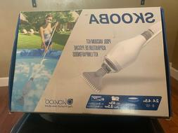 Skooba Above Ground Pool Vacuum Cleaner - white