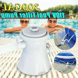 Summer Waves Swimming Pool Water Cleaner Filter Pump For Abo
