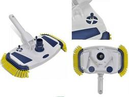 Swimming Pool Vacuum Head Cleaner Brush Equipped with A Pole