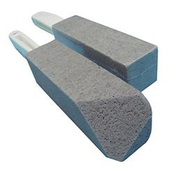 BATTLEHYMN Toilet Bowl Pumice Cleaning Stone with Handle - F