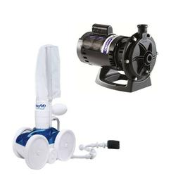 Polaris VacSweep 280 Pressure Pool Cleaner F5 &  3/4 HP Boos